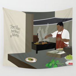 Mexican Tacos Wall Tapestry