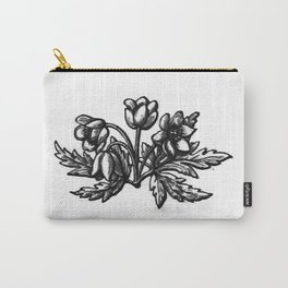 Flowers 3 Carry-All Pouch