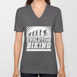 Evolution Biking Unisex V-Neck