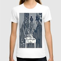 poker T-shirts featuring Poker Game by Kasey Jane