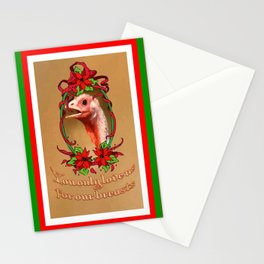 You Only Love Us for Our Breasts Christmas Card Stationery Cards