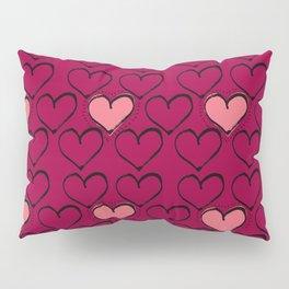 Heart in a million Pillow Sham