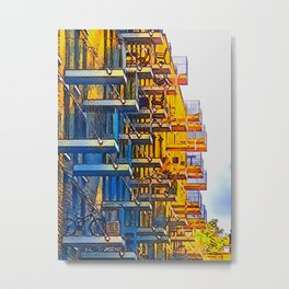 Cantilevered Spaces Metal Print