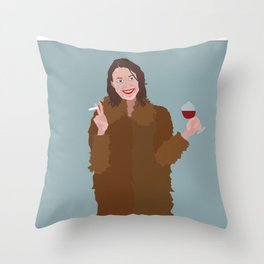 Hapy New Year, Be the best version of yourself Throw Pillow