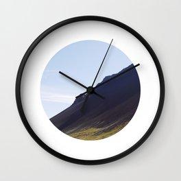 Obliquo, Iceland Wall Clock
