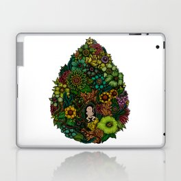 "Floral Uterus ""緑(ROKU)"" Laptop & iPad Skin"