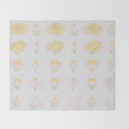 Bloom Loop Throw Blanket