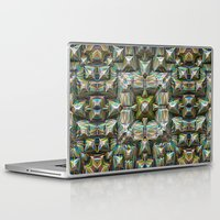 bands Laptop & iPad Skins featuring Structural Bands of Color   by Phil Perkins