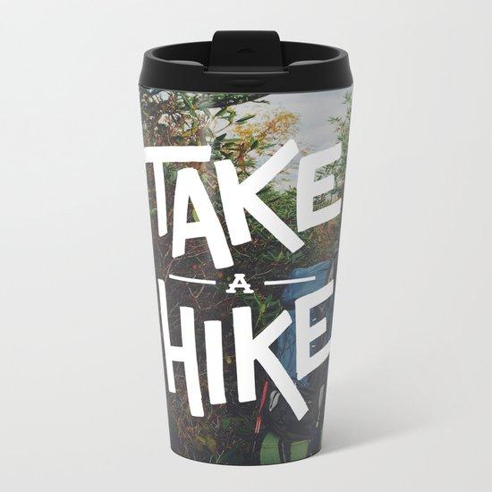 Take A Hike Metal Travel Mug