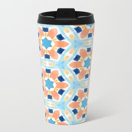 Moroccan Pattern V1 #society6 #decor #buyart Metal Travel Mug