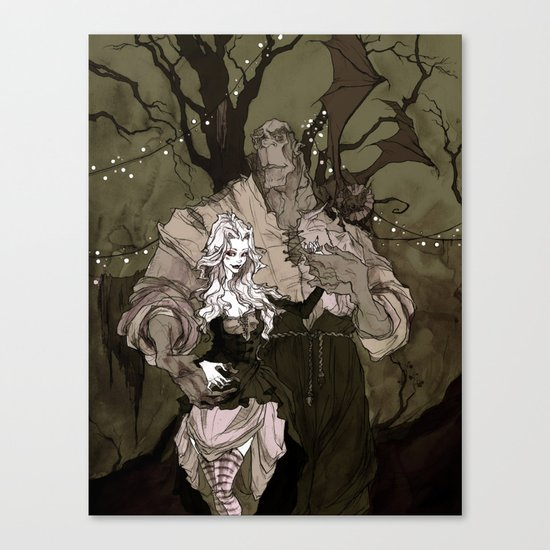 The Performers Canvas Print