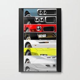 Firebird Generations Metal Print