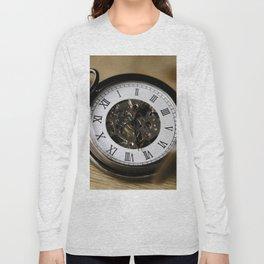 Retro Pocket Watch Long Sleeve T-shirt