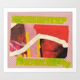 Red Rec  Art Print