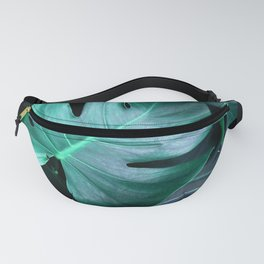 Tropical Foliage Fanny Pack