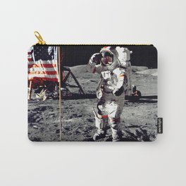 Salute on the Moon Carry-All Pouch