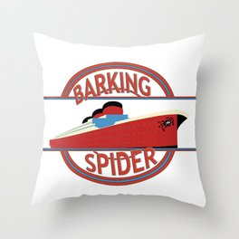 Barking Spider Maritime Throw Pillow