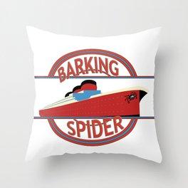 Barking Spider Maritime Throw Pillow