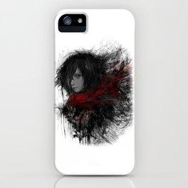 Shingeki no Kyojin Mikasa Ackerman iPhone Case