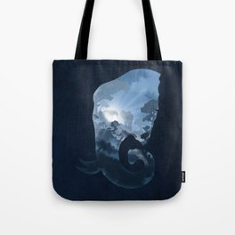 Elephants in the Night Tote Bag