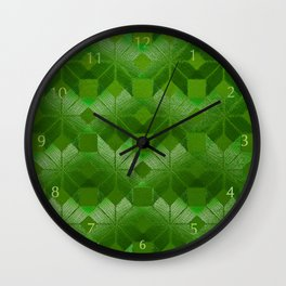 Evergreen, Snowflakes #32 Wall Clock