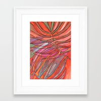 palms Framed Art Prints featuring Palms by Carla_S