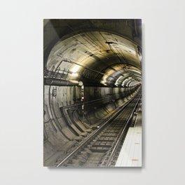City Looping! Metal Print