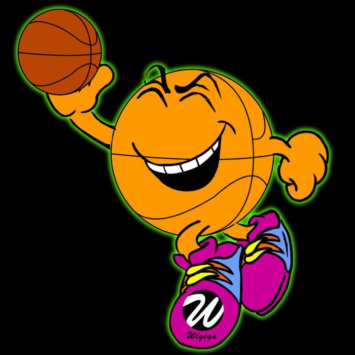 Basketball Cartoon Character Bouncing Ball Comforters