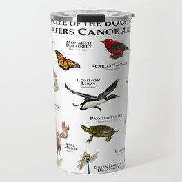 Wildlife of the Boundary Water Canoe Area Travel Mug