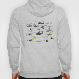 Multiple Helicopters Hoody