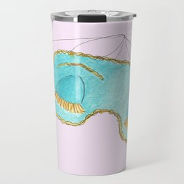 Holly Golightly Pink Travel Mug