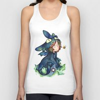 toothless Tank Tops featuring toothless by noCek
