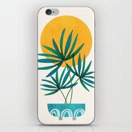 Little Palm + Sunshine iPhone Skin