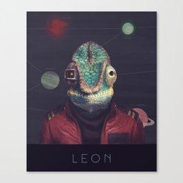 Star Team - Leon Canvas Print