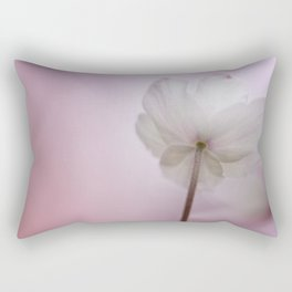 Wood Anemone in a late sunshine... Rectangular Pillow