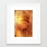 cyclops Framed Art Prints featuring Cyclops by Arvydas Butautas