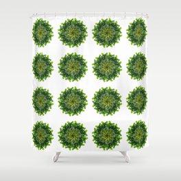 The Fiddlefig Swirl (Pattern) Shower Curtain