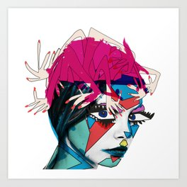 The Crazy Ones Art Print