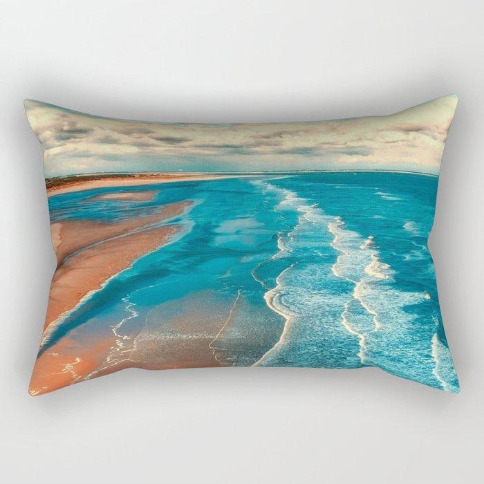 Sky Tide Rectangular Pillow