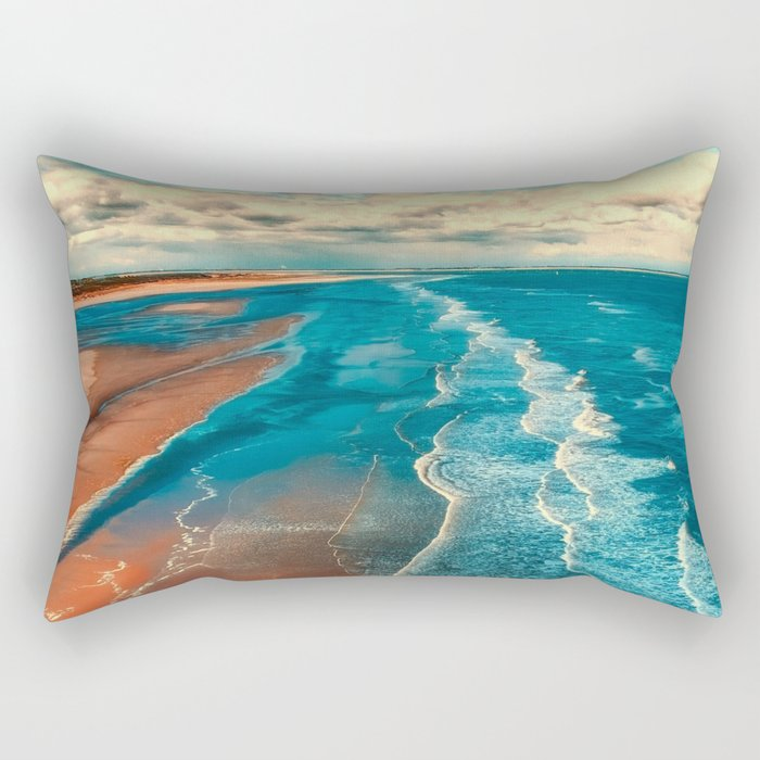 Sky Tide Rectangular Pillow