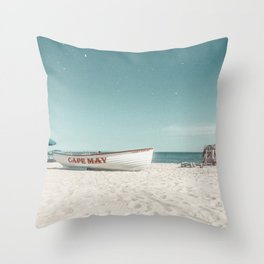 Cape May, NJ. 2020 Throw Pillow