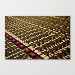 Control Room Canvas Print