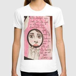Beautiful Audrey  T-shirt