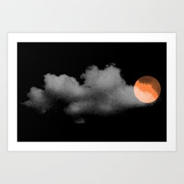 weather so changeable Art Print