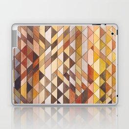 Triangle Pattern Fall Colors Laptop & iPad Skin