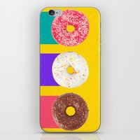 donuts iPhone & iPod Skins featuring Donuts by Danny Ivan