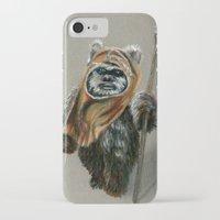 ewok iPhone & iPod Cases featuring Ewok by Sam Luotonen