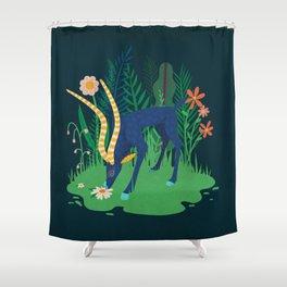 Gazelle Shower Curtain