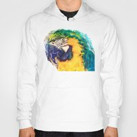 parrot Hoodies featuring Parrot by jbjart