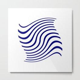 marinière mariniere in the wind Metal Print